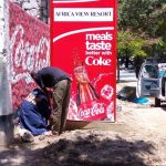 sds tanzania limited branding signage printing coca cola 4