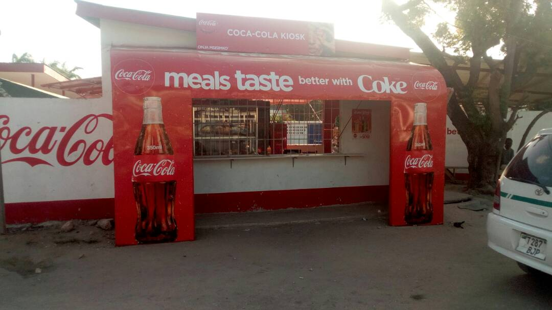 sds tanzania limited outdoor branding signage coca cola 5
